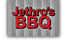 BBQ Slow Smoked MEAT, pork, chicken, brisket Logo
